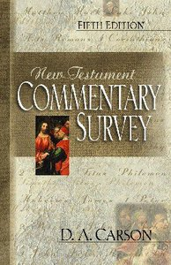 New Testament Commentary Survey (5th Edition)