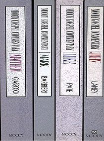 Moody Gospel Commentaries (4 Volume Set) (Moody Gospel Commentary Series)