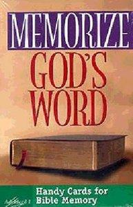 Memorize Gods Word: Advanced 1