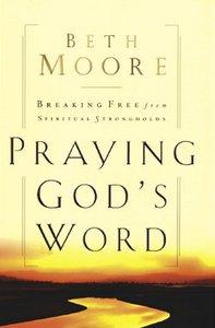 Praying Gods Word (Large Print)
