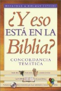 Eso Esta in La Biblio (So Thats In The Bible)