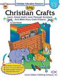 Easy Christian Crafts Reproducible (Grades 1-3)