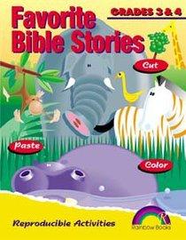 Favorite Bible Stories: Grades 3&4 (Reproducible)