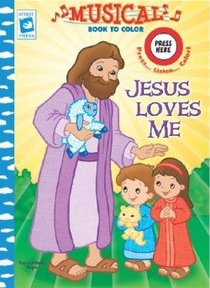 Musical Book to Color: Jesus Loves Me