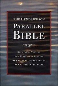 Niv/Nlt/Nkjv/Kjv Hendrickson Parallel