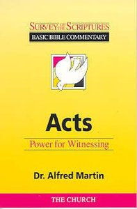 Survey of the Scriptures: Acts