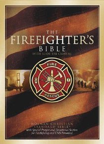 The HCSB Firefighters Bible (Red Letter Edition)