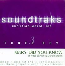 Mary Did You Know (Accompaniment)
