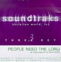 People Need the Lord (Accompaniment)