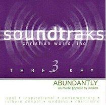 Abundantly (Accompaniment)