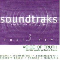 Voice of Truth (Accompaniment)