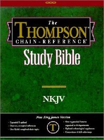 NKJV Thompson Chain Reference Study Black (Red Letter Edition)