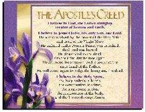 Wall Chart: Apostles Creed (Laminated)