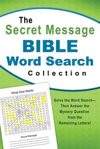 The Secret Message Bible Word Search Collection