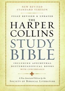 The Harpercollins Study Bible Standard Version With the Apocryphal/Deuterocanonical Books