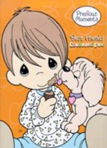 Best Friends Coloring Fun (Precious Moments) (Golden Books Series)