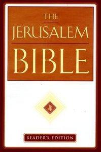 The Jerusalem Bible (Readers Edition)
