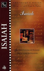 Isaiah (Shepherds Notes Series)