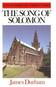 Song of Solomon (Geneva Series Of Commentaries)