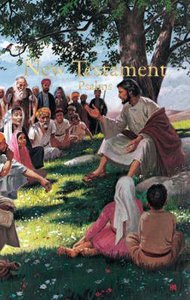 KJV Economy New Testament With Psalms Illustrated (Red Letter Edition)