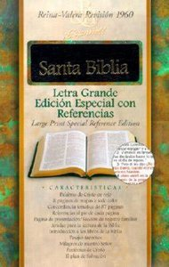 Spanish Special Reference Large Print Black Indexed (Red Letter Edition)
