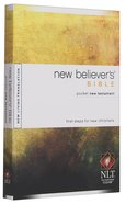 NLT New Believers Pocket New Testament Bible