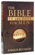 Bible in 366 Days For Men of Faith (Nlt)