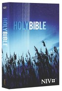 NIV Outreach Bible Blue Wheat Cover