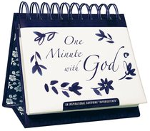 Daybrighteners: One Minute With God (Padded Cover)
