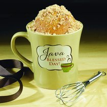 Cake Recipe Mug Including Whisk: Java Blessed Day