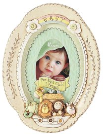 Noahs Ark: Baby Photo Frame