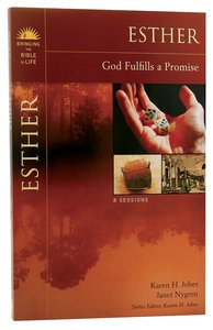 Esther (Bringing The Bible To Life Series)