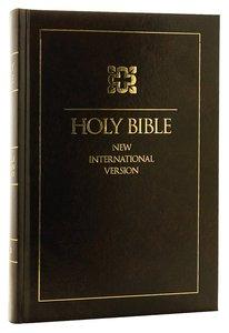 NIV Single-Column Reference Bible Black Letter