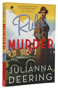 Rules of Murder (#01 in Drew Farthering Mystery Series)