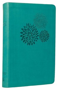 NKJV Personal Giant Print Reference Bible Turquoise (Essentials)