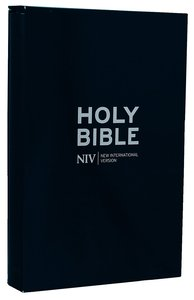 NIV Thinline Bible Bonded-Leather Navy