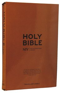 NIV Travellers Soft-Tone Bible