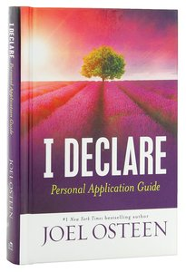 I Declare (Personal Application Guide)