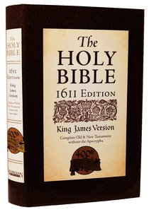 KJV Holy Bible 1611 Edition (Deluxe Edition) (Without Apocrypha)
