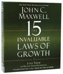 The 15 Invaluable Laws of Growth (Unabridged)