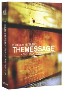 Message Remix 2.0 Paperback Wood (Black Letter Edition)