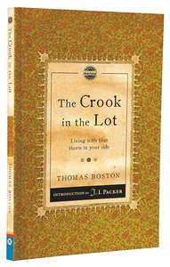 Chps: A Crook in the Lot: Living With That Thorn in Your Side