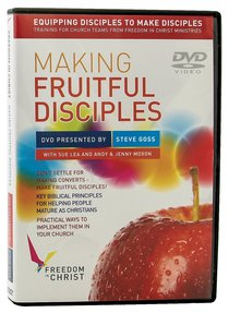 Making Fruitful Disciples DVD (Freedom In Christ Course)