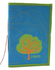 Large Journal Imagine Blue/Green (Empowering The Poor Series)