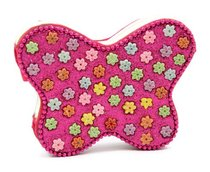 Note Pad Butterfly Pink Flowers (Empowering The Poor Series)