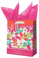 Gift Bag Small: All Things Are Possible Bright Flowers