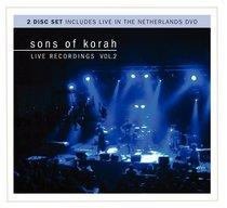 Sons of Korah: Live Recordings Vol. 2 (Cd/dvd)