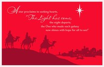 Christmas Boxed Cards: A Star Proclaims (Psalm 147:11)