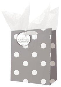 Gift Bag Medium: Rejoice White/Gray