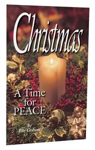 Christmas: A Time For Peace: NKJV (Pack Of 25)